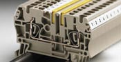 Modular terminals are available with many different types of wire connections
